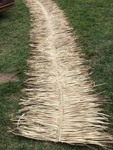 "30"" x 10' Ridge Cap Palm Thatch Roll"