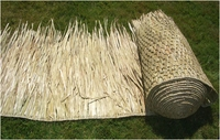"30""x 20ft Commercial Grade Tiki Thatch Roll"