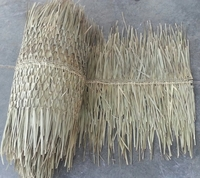 "48"" x 15' Ridge Cap Palm Thatch Roll"