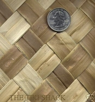 Lauhala Matting Bamboo Wall Covering With FIRE RETARDANT<br>4ft x 50ft