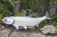 "57"" Tarpon Half Mount Fish Replica"