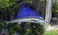 "96"" Sailfish Whole Mount Fish Replica"