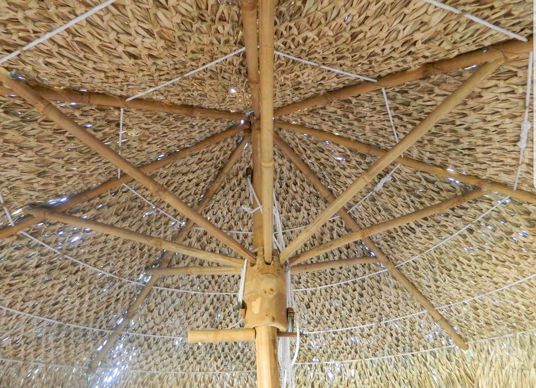 9ft Bamboo Umbrella Replacement Top Cover