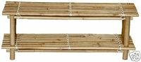 Bamboo Display Set of 2 Retail  Racks