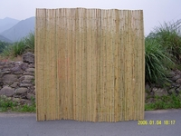 "TWO Bamboo Fence Natural <p>3/4""x 8' x 8'"