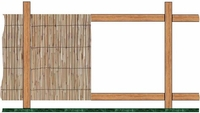 Bamboo Fencing Rolled Amp Split Bamboo Tiki Shack Importer