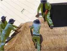 Eco Artificial Thatch Sub-Panel C7 F/R