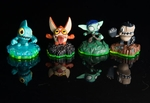 Skylanders Sidekicks: Full Set - (Trigger Snappy, Whisper Elf,  Gill Runt, Terrabite) (Collectible)
