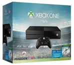 XBOX ONE 1 TB Madden 2016 Bundle
