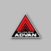 Advan get a step ahead - Racing Sticker - Vinyl Sticker