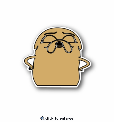 Angry potato - Racing Sticker - Vinyl Sticker