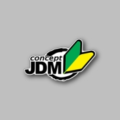 Concept JDM - Racing Sticker - Vinyl Sticker