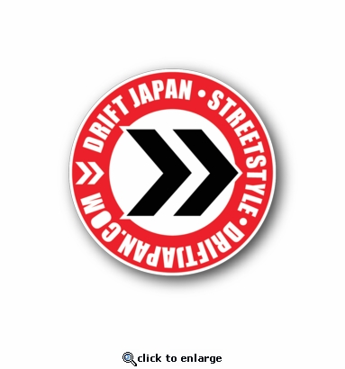 Drift japan street style racing sticker vinyl sticker