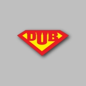 DUB - Racing Sticker - Vinyl Sticker