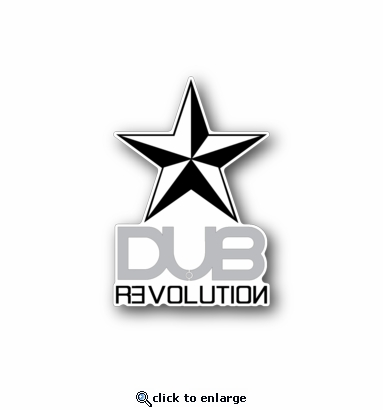 Dub Revolution - Racing Sticker - Vinyl Sticker
