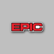 Epic - Racing Sticker - Vinyl Sticker