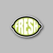 fresh green - Racing Sticker - Vinyl Sticker
