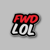 fwd lol - Racing Sticker - Vinyl Sticker