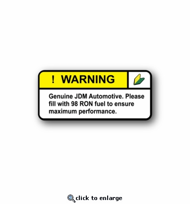 Genuine JDM Automotive - Racing Sticker - Vinyl Sticker