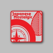 japanese nostalgic - Racing Sticker - Vinyl Sticker