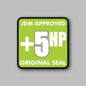 JDM Approved Original Seal - Racing Sticker - Vinyl Sticker
