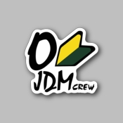 JDM Crew Vinyl Sticker - Racing Sticker - Vinyl Sticker