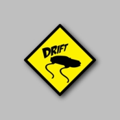 JDM Drift - Racing Sticker - Vinyl Sticker