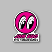 JDM Ego - Racing Sticker - Vinyl Sticker