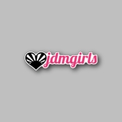 JDM Girls - Racing Sticker - Vinyl Sticker
