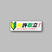 JDM Green Arrow Logo - Racing Sticker - Vinyl Sticker