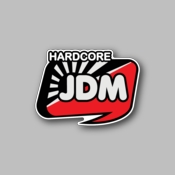 JDM Hardcore - Racing Sticker - Vinyl Sticker