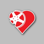 JDM Heart Alloy - Racing Sticker - Vinyl Sticker
