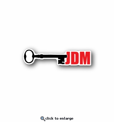 jdm key - Racing Sticker - Vinyl Sticker
