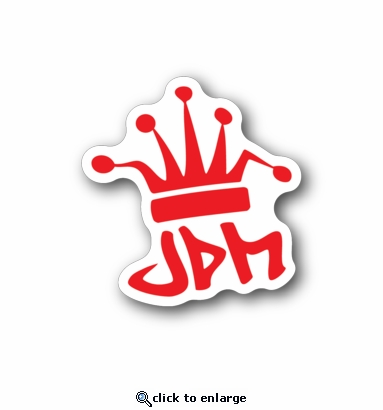 JDM King - Racing Sticker - Vinyl Sticker