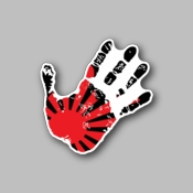 JDM palm - Racing Sticker - Vinyl Sticker