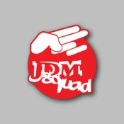 JDM Squad - Racing Sticker - Vinyl Sticker