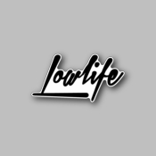 Loud Life - Racing Sticker - Vinyl Sticker