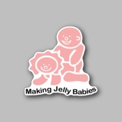 making jelly babies - Racing Sticker - Vinyl Sticker