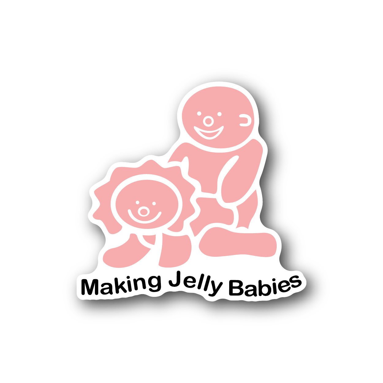 Making jelly babies racing sticker vinyl sticker 2 jpg