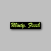 Minty Fresh - Racing Sticker - Vinyl Sticker