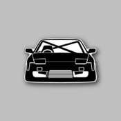 night rider - Racing Sticker - Vinyl Sticker