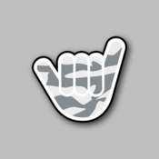 Peace out - Racing Sticker - Vinyl Sticker