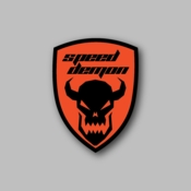 speed demon - Racing Sticker - Vinyl Sticker