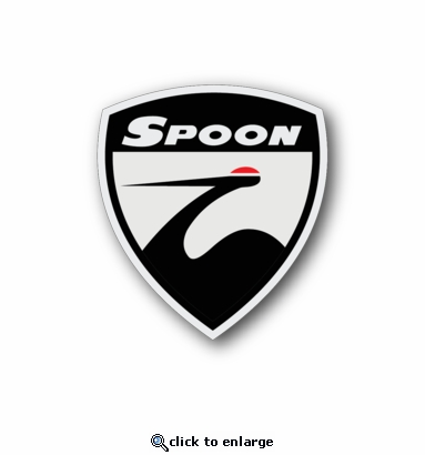 Spoon - Racing Sticker - Vinyl Sticker