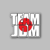team JDM - Racing Sticker - Vinyl Sticker