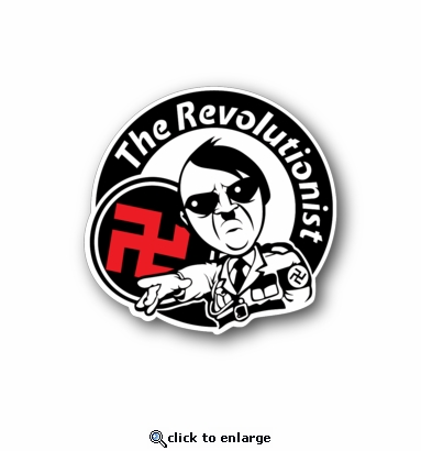 The Revolutionist - Racing Sticker - Vinyl Sticker
