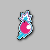 Ticking Bomb - Racing Sticker - Vinyl Sticker