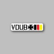 Vdub - Racing Sticker - Vinyl Sticker