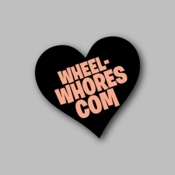 Wheels Whors Com - Racing Sticker - Vinyl Sticker