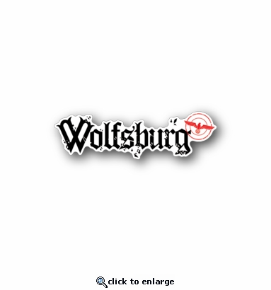 Wolfsburg - Racing Sticker - Vinyl Sticker